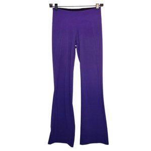 Zobha Purple Flare Leg Yoga Pants